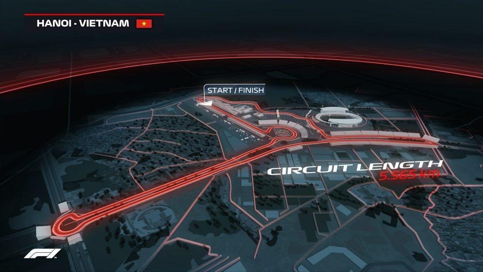 Đường đua Hà Nội khởi công