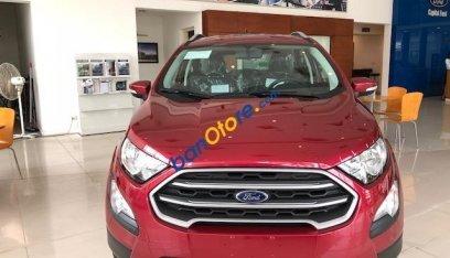 Bán ô tô Ford EcoSport 1.5 Trend sản xuất 2019, màu đỏ, chỉ với 550tr tặng 20tr phụ kiện. Trả góp cao. LH 0974286009-0