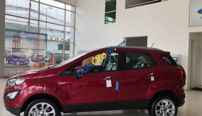 Bán ô tô Ford EcoSport 1.5 Trend sản xuất 2019, màu đỏ, chỉ với 550tr tặng 20tr phụ kiện. Trả góp cao. LH 0974286009-1