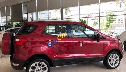 Bán ô tô Ford EcoSport 1.5 Trend sản xuất 2019, màu đỏ, chỉ với 550tr tặng 20tr phụ kiện. Trả góp cao. LH 0974286009-2