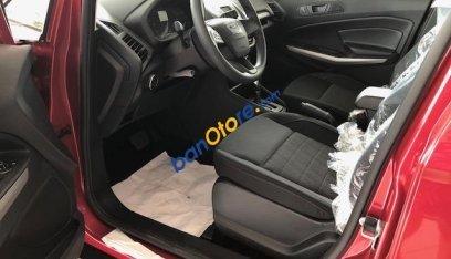 Bán ô tô Ford EcoSport 1.5 Trend sản xuất 2019, màu đỏ, chỉ với 550tr tặng 20tr phụ kiện. Trả góp cao. LH 0974286009-3