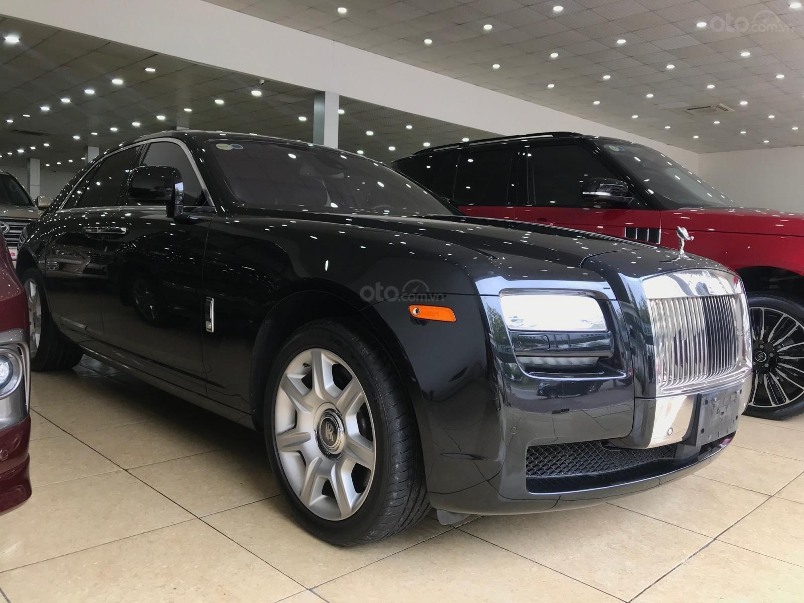 Bán ô tô Rolls-Royce Ghost 2011, màu đen, xe chạy cực ít, siêu đẹp (2)