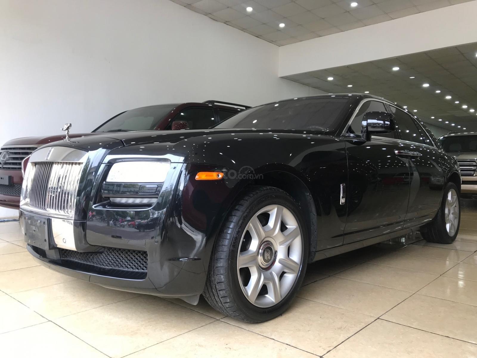 Bán ô tô Rolls-Royce Ghost 2011, màu đen, xe chạy cực ít, siêu đẹp (5)