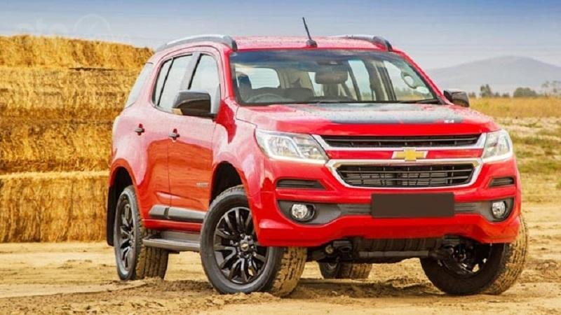 Chevrolet Trailblazer 2019 màu đỏ...