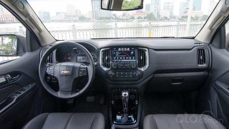 Khoang cabin Chevrolet Trailblazer 2019...