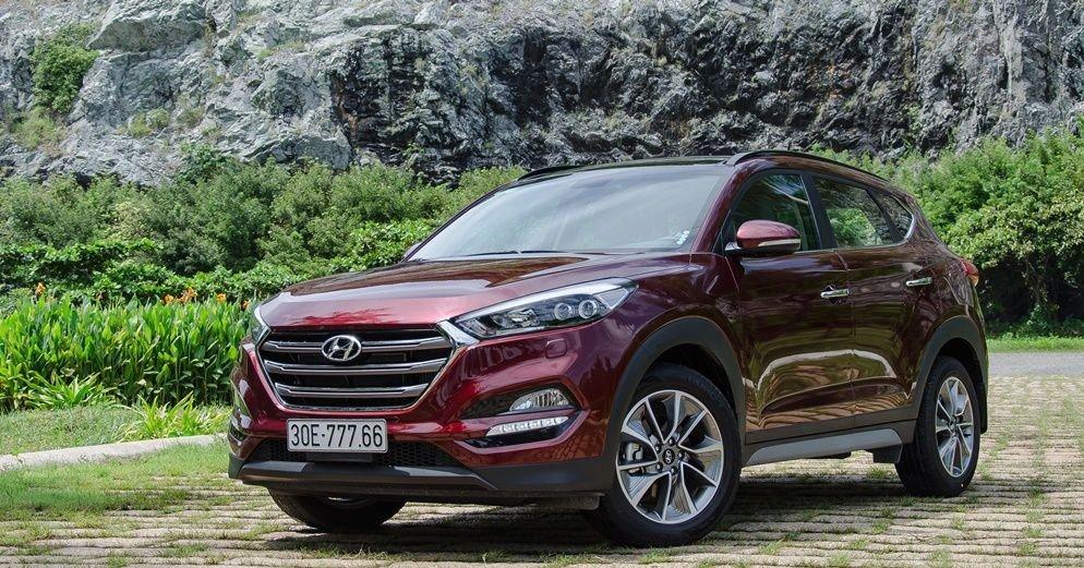 Vay mua xe Hyundai Tucson trả góp 2019
