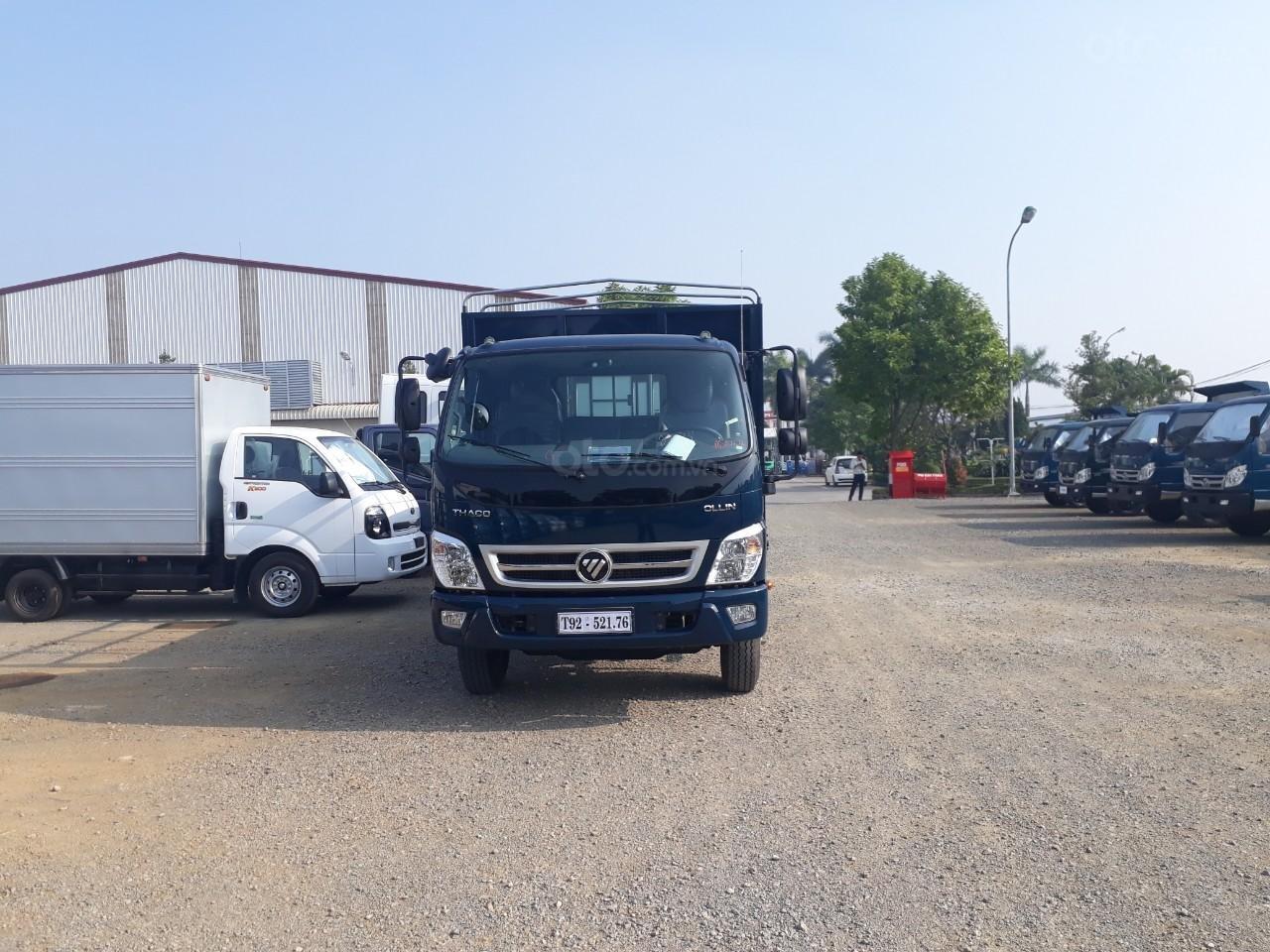 Giá xe tải Thaco Ollin 350. E4, tải trọng 2.15/3.45 tấn mui bạt Trường Hải (3)