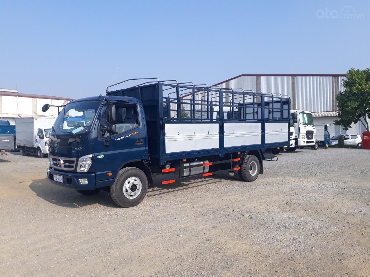 Giá xe tải Thaco Ollin 350. E4, tải trọng 2.15/3.45 tấn mui bạt Trường Hải (4)