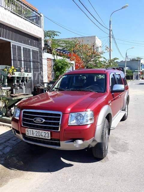 Bán Ford Everest năm sản xuất 2008, màu đỏ còn mới (1)