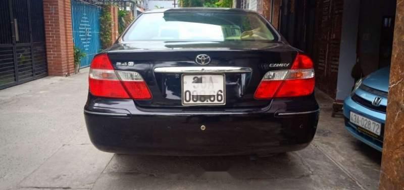 Bán ô tô Toyota Camry 2.4 MT năm sản xuất 2004, màu đen, xe nhập, giá 342tr-2