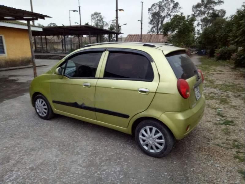 Bán xe Chevrolet Spark sản xuất năm 2010, màu xanh lam còn mới   (2)