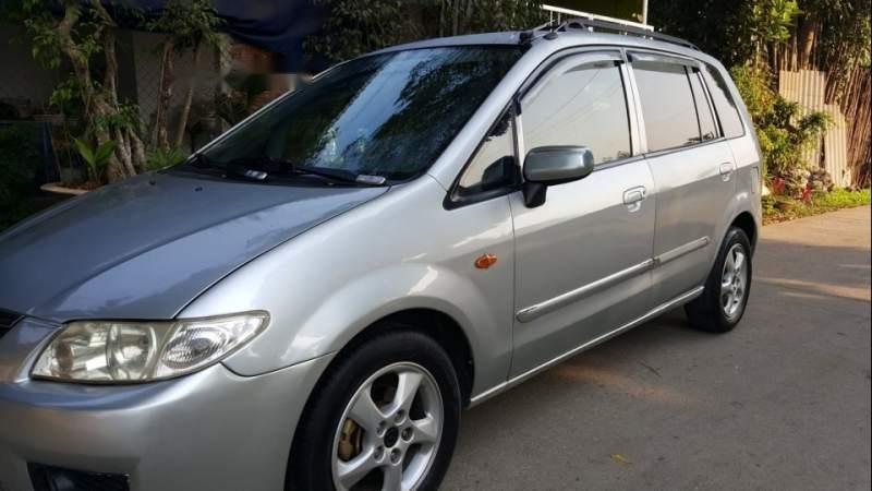 Cần bán xe Mazda Premacy AT năm 2005, màu bạc, xe nhập (5)