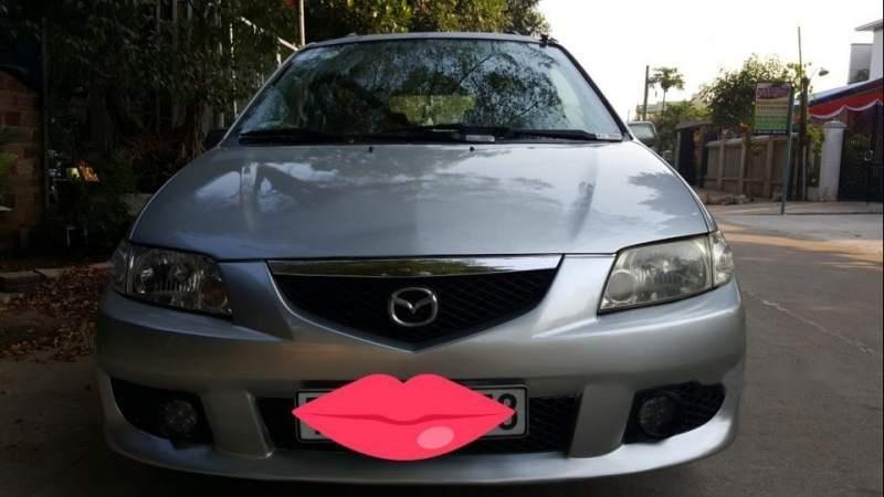 Cần bán xe Mazda Premacy AT năm 2005, màu bạc, xe nhập (1)