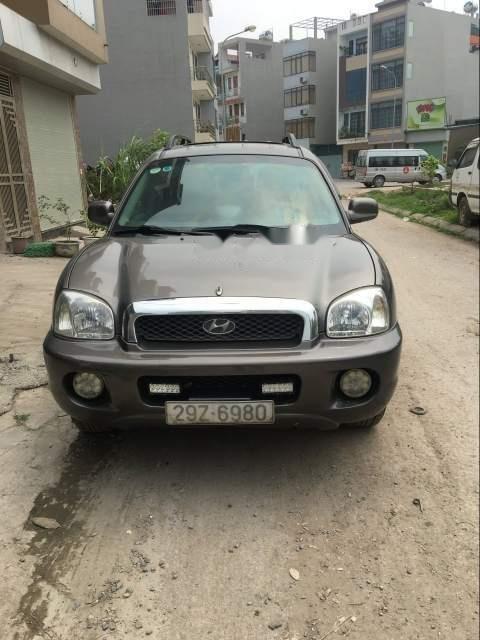 Cần bán Hyundai Santa Fe Gold đời 2003, xe gia đình sử dụng rất tốt (1)