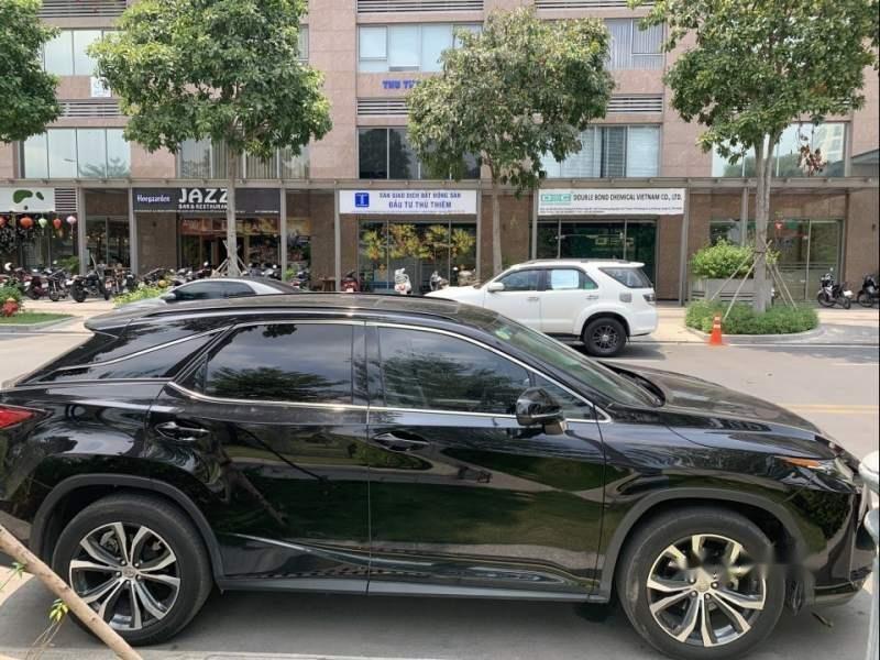 Cần bán lại xe Lexus RX 350 năm sản xuất 2016, màu đen, nhập khẩu, còn rất đẹp và mới-0