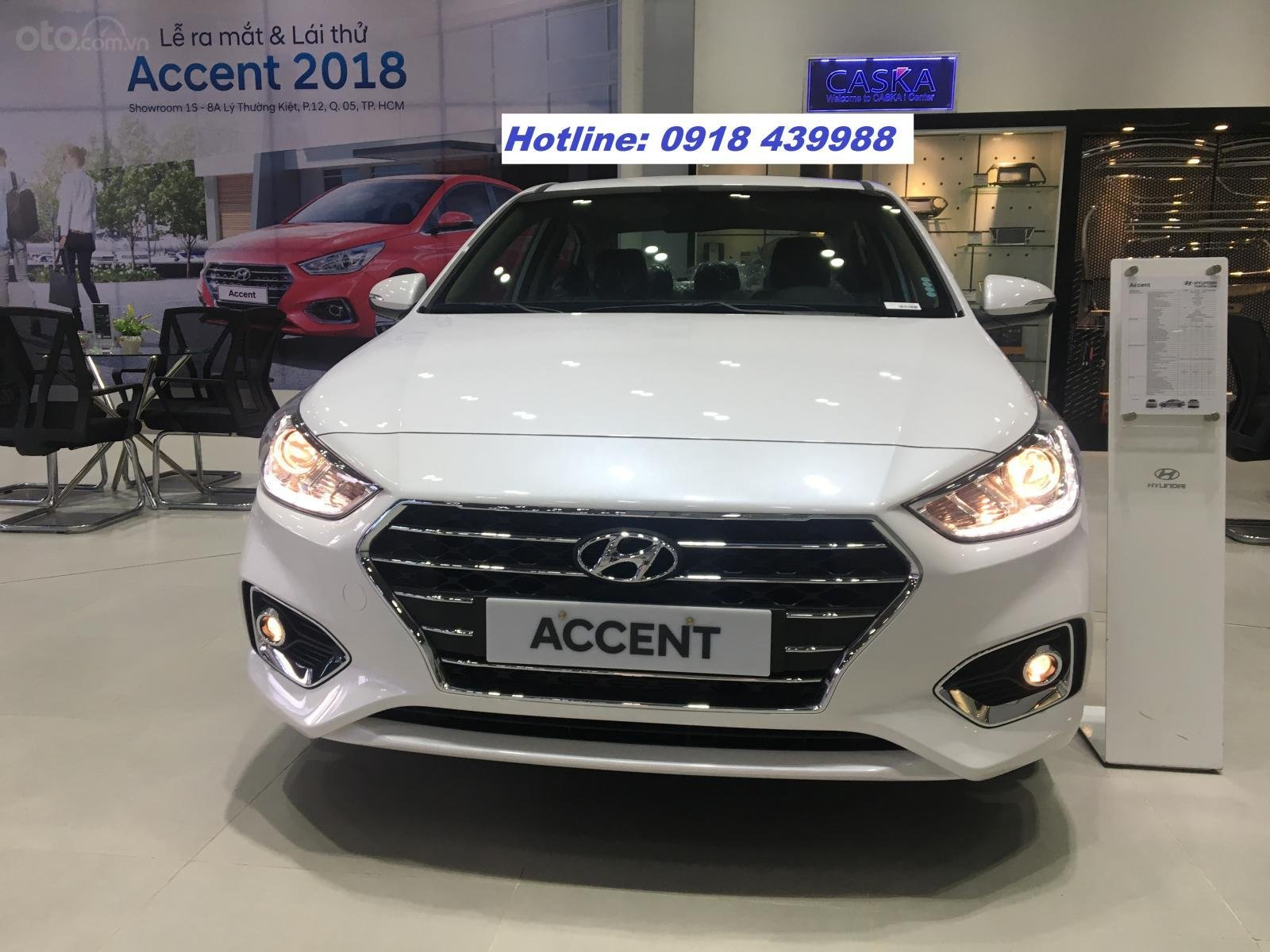 All New Accent 2019 AT full, giao xe ngay, thanh toán 170tr - LH: 0918439988-0