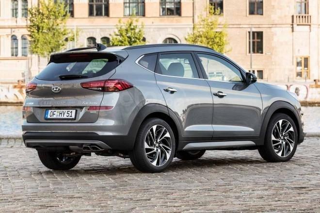 Hyundai Tucson 2019 đuôi xe