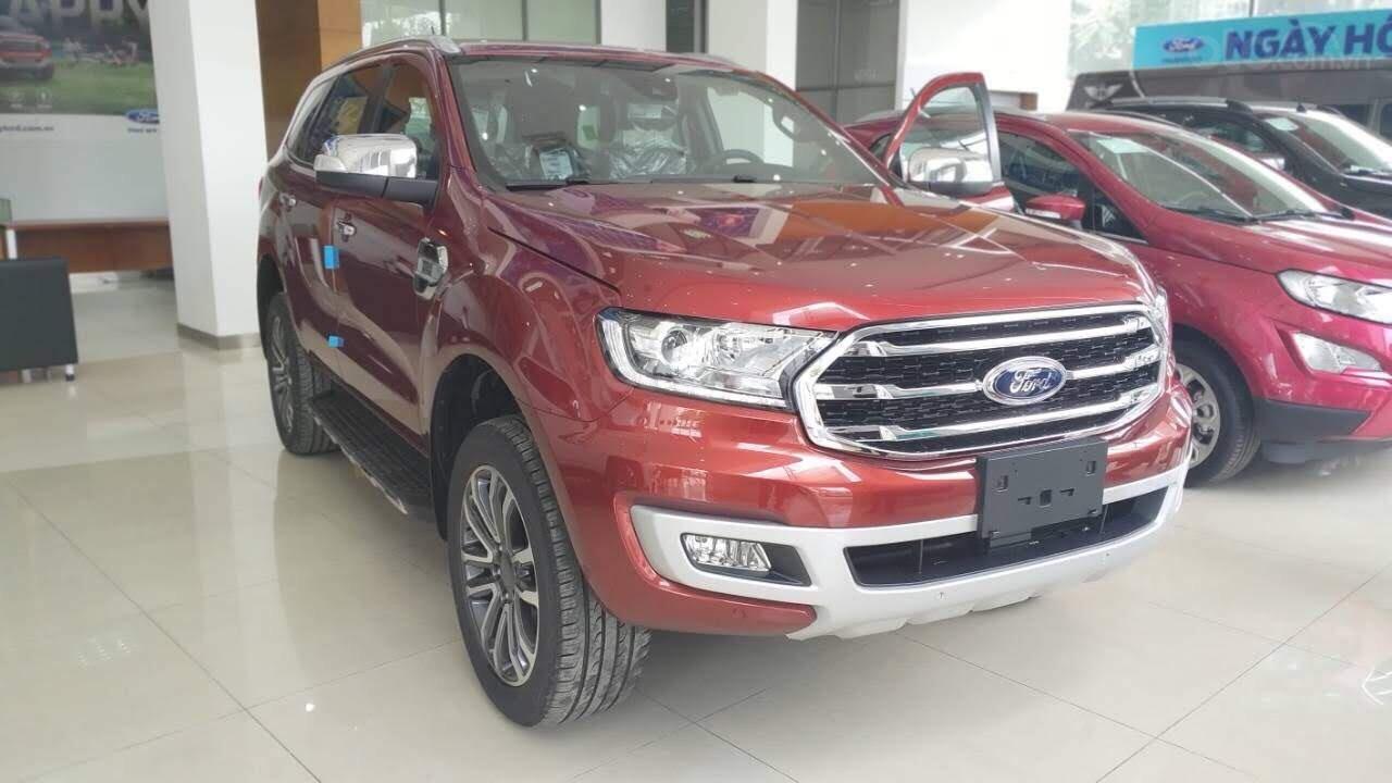 Ford Everest Ambiente và Titanium 2019, màu đỏ, nhập khẩu, giá nát để lấy doanh số, tặng kèm phụ kiện và hỗ trợ lệ phí-7