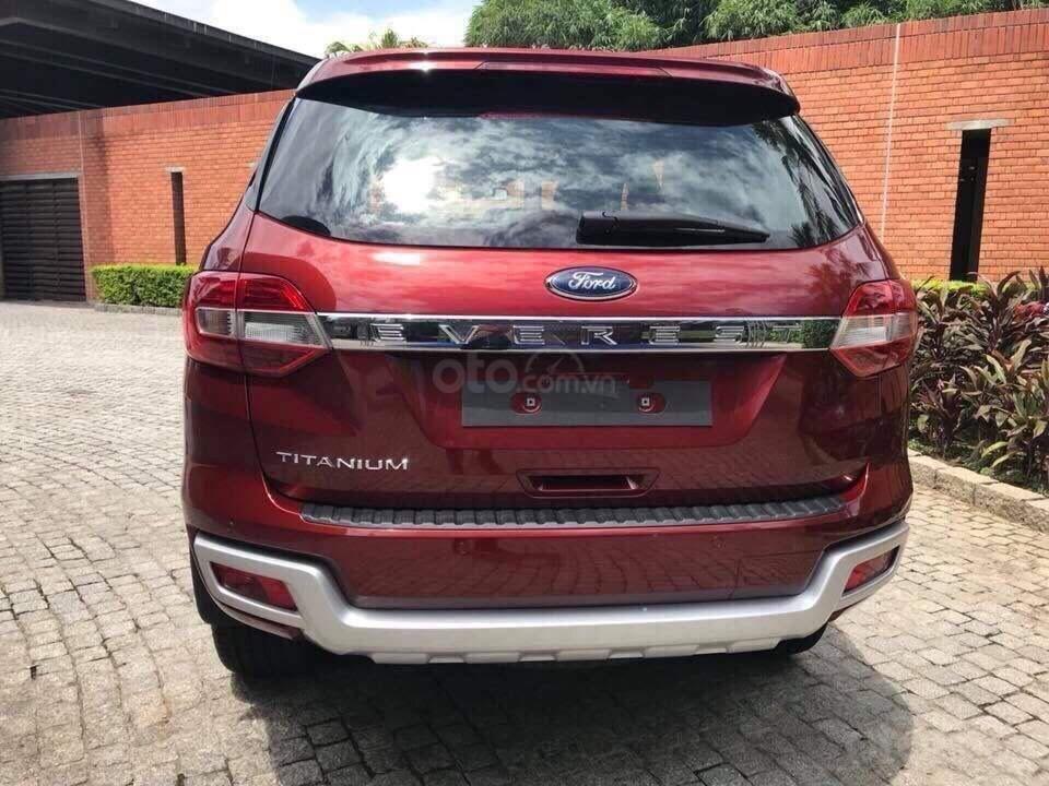 Ford Everest Ambiente và Titanium 2019, màu đỏ, nhập khẩu, giá nát để lấy doanh số, tặng kèm phụ kiện và hỗ trợ lệ phí-9