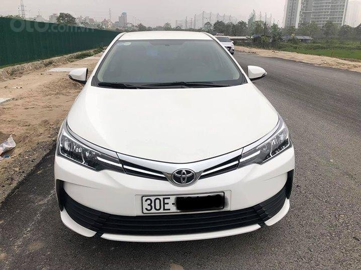 Toyota Corolla Altis 1.8MT SX 2017 form mới-1