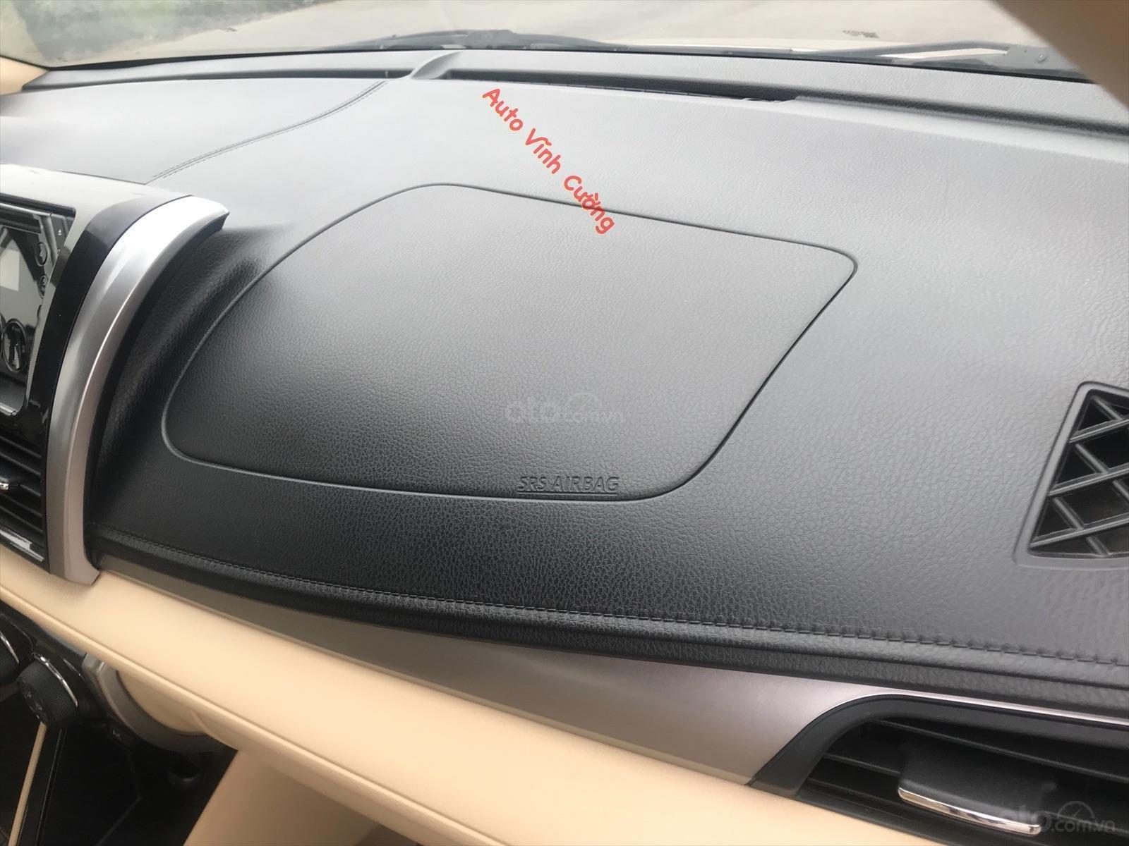 Bán ô tô Toyota Vios 1.5E MT năm sản xuất 2016, biển tỉnh bao hồ sơ-16