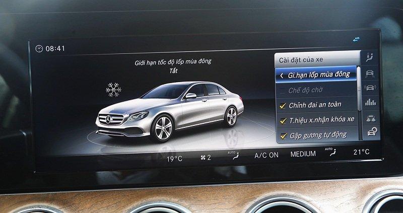 Soi lỗi thường gặp trên xe sang Mercedes-Benz a2.