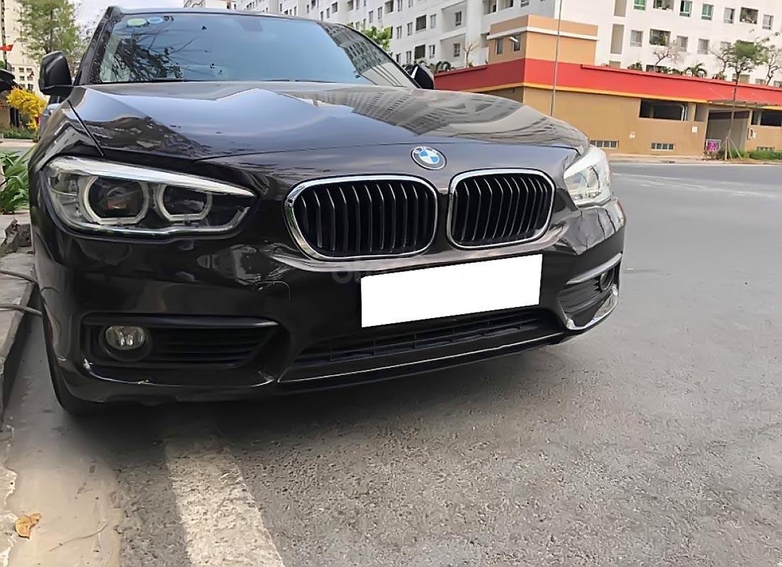 Cần bán BMW 1 Series 118i đời 2015, màu đen, xe nhập, 888tr (1)