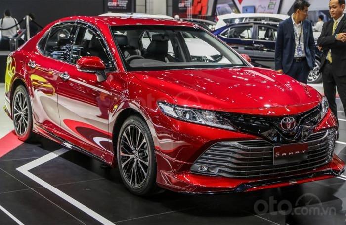 Bán Toyota Camry 2019, nhập khẩu nguyên chiếc Thái Lan tại Toyota Đông Sài Gòn - Gò Vấp-1