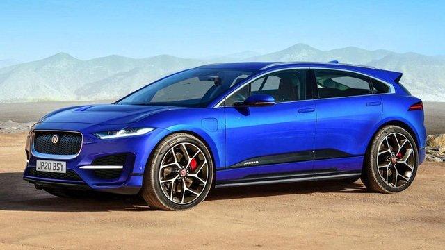 Jaguar J-Pace công bố thông tin ra mắt, cạnh tranh BMW X6.
