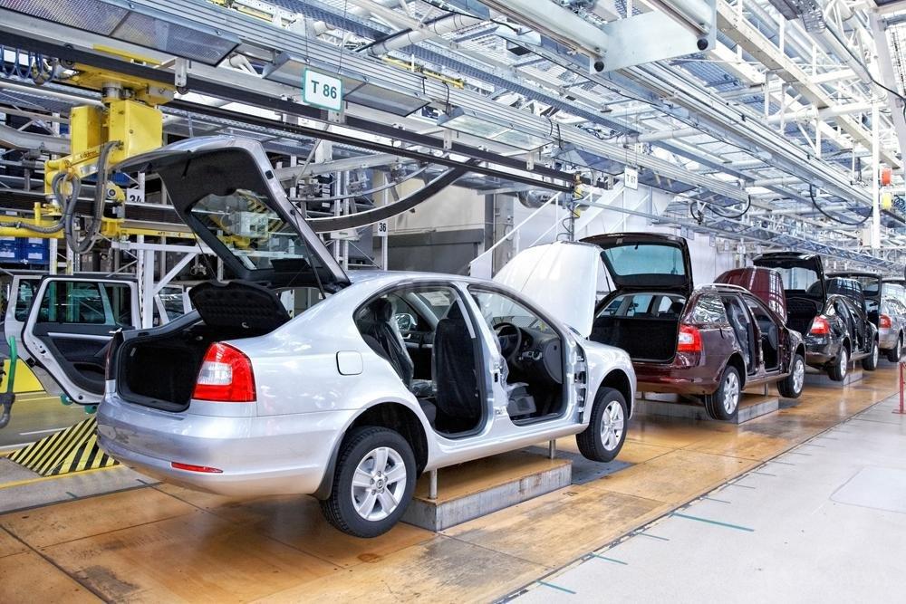 Nhà máy xe hơi tại Mỹ
