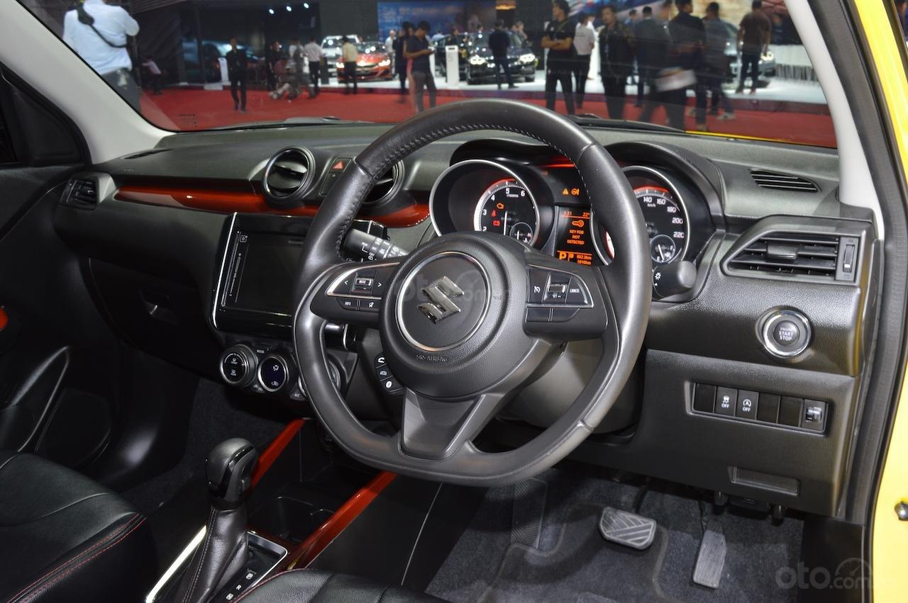 [BIMS 2019] Suzuki Swift Sport cho cảm giác lái thú vị hơn