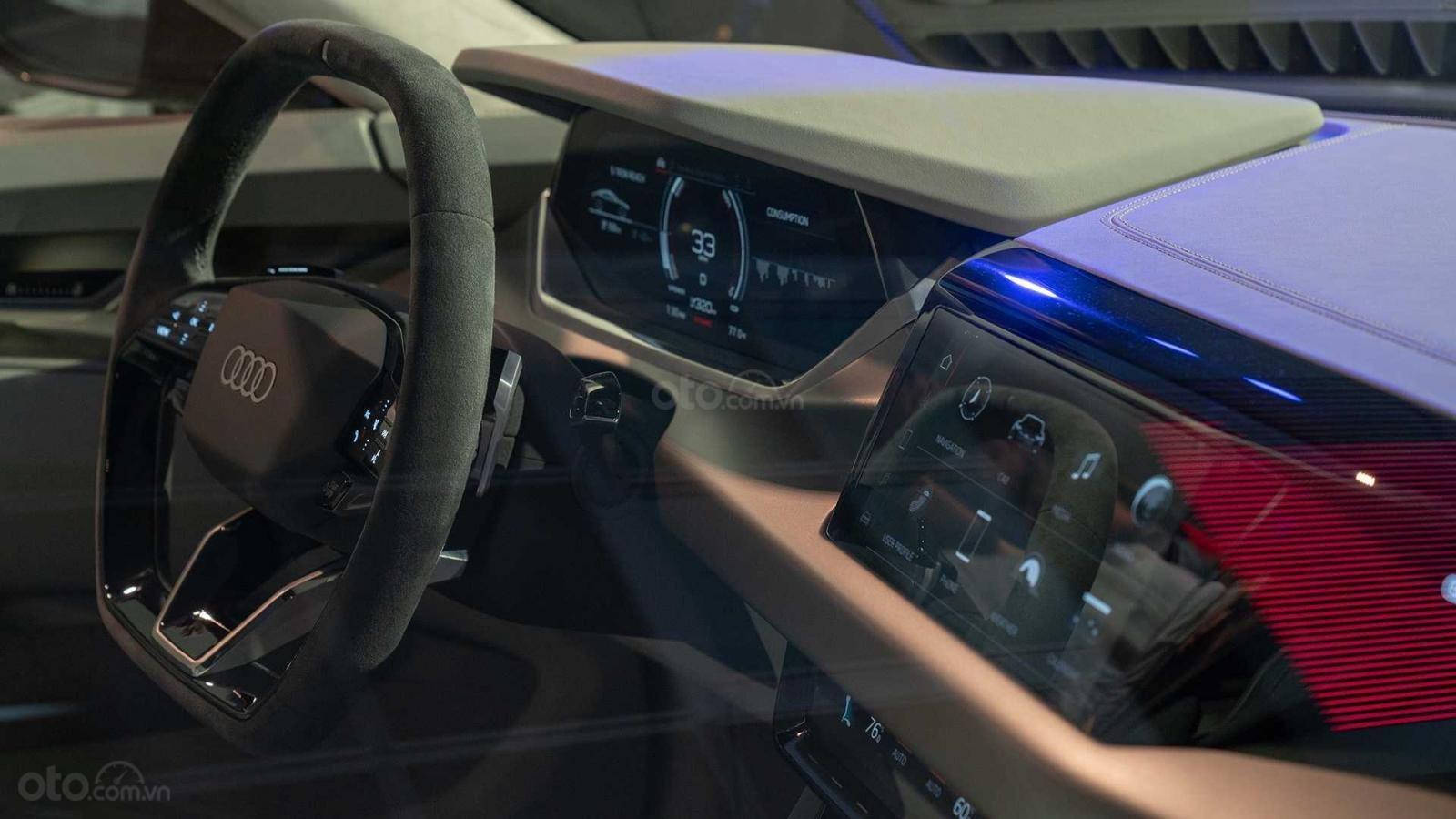Xe điện cỡ Audi A4 đảm bảo sự tân tiến, hiện đại đúng chuẩn