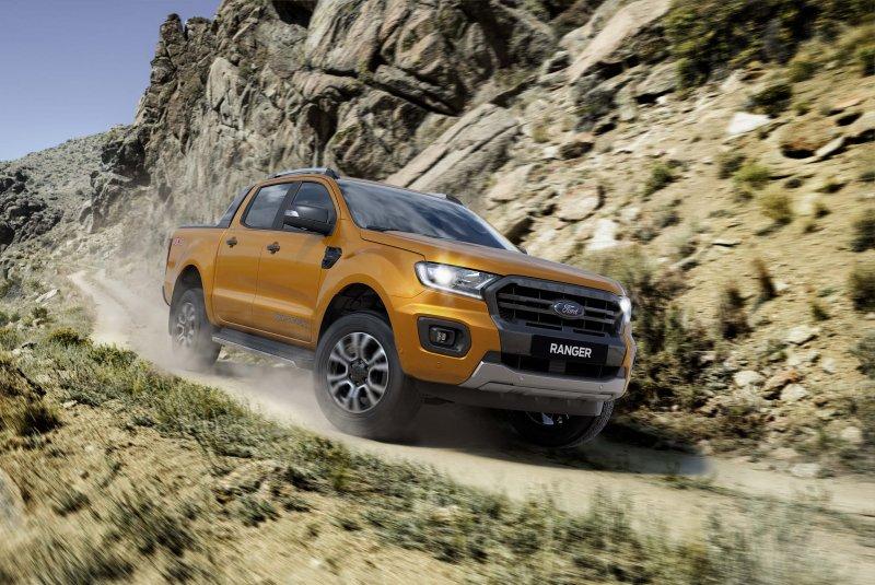 Các dòng xe của Ford luôn toát lên vẻ nam tính, khỏe mạnh