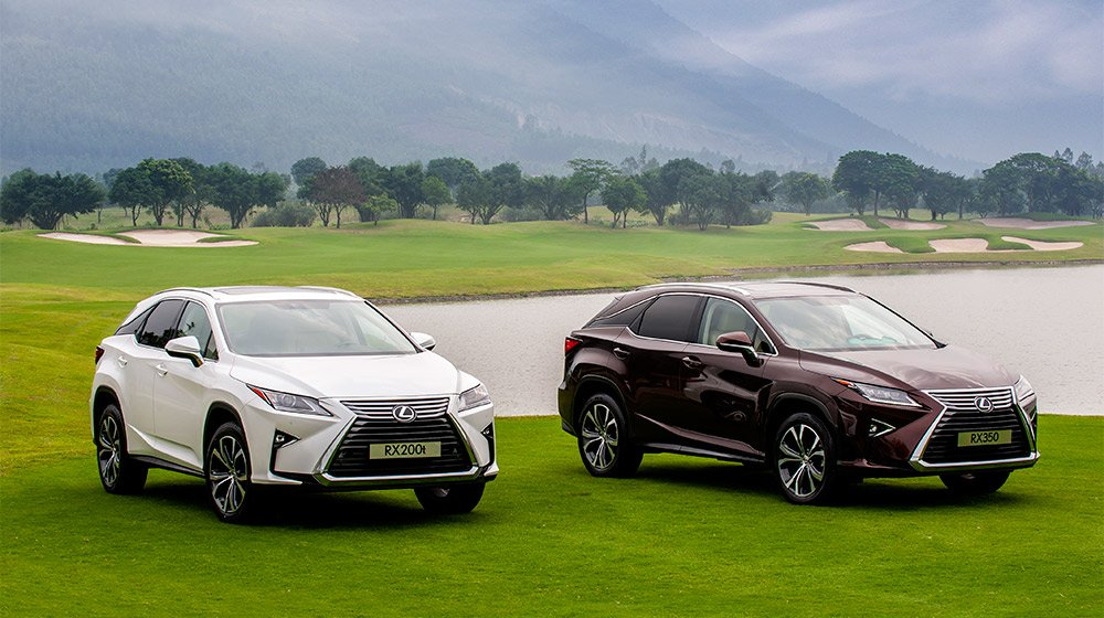 Các mẫu xe của Lexus luôn thể hiện được đẳng cấp của mình