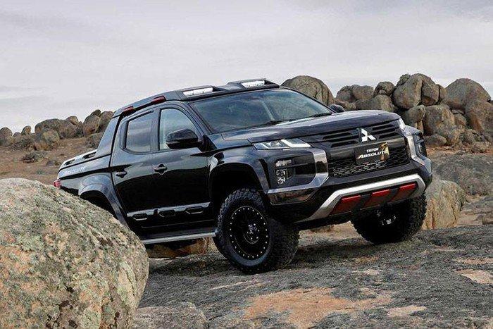 Ford có Ranger Raptor, Mitsubishi sẵn sàng 'chiến' bằng Triton Absolute a1