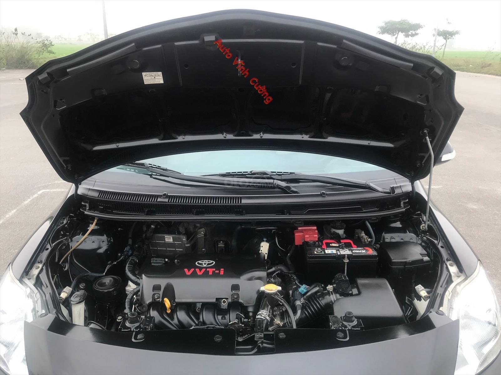Bán xe Toyota Vios 1.5E MT đời 2009, màu đen-5