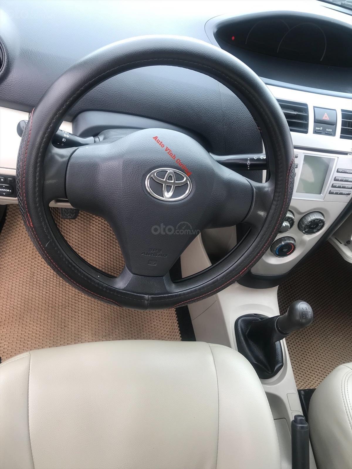 Bán xe Toyota Vios 1.5E MT đời 2009, màu đen-11