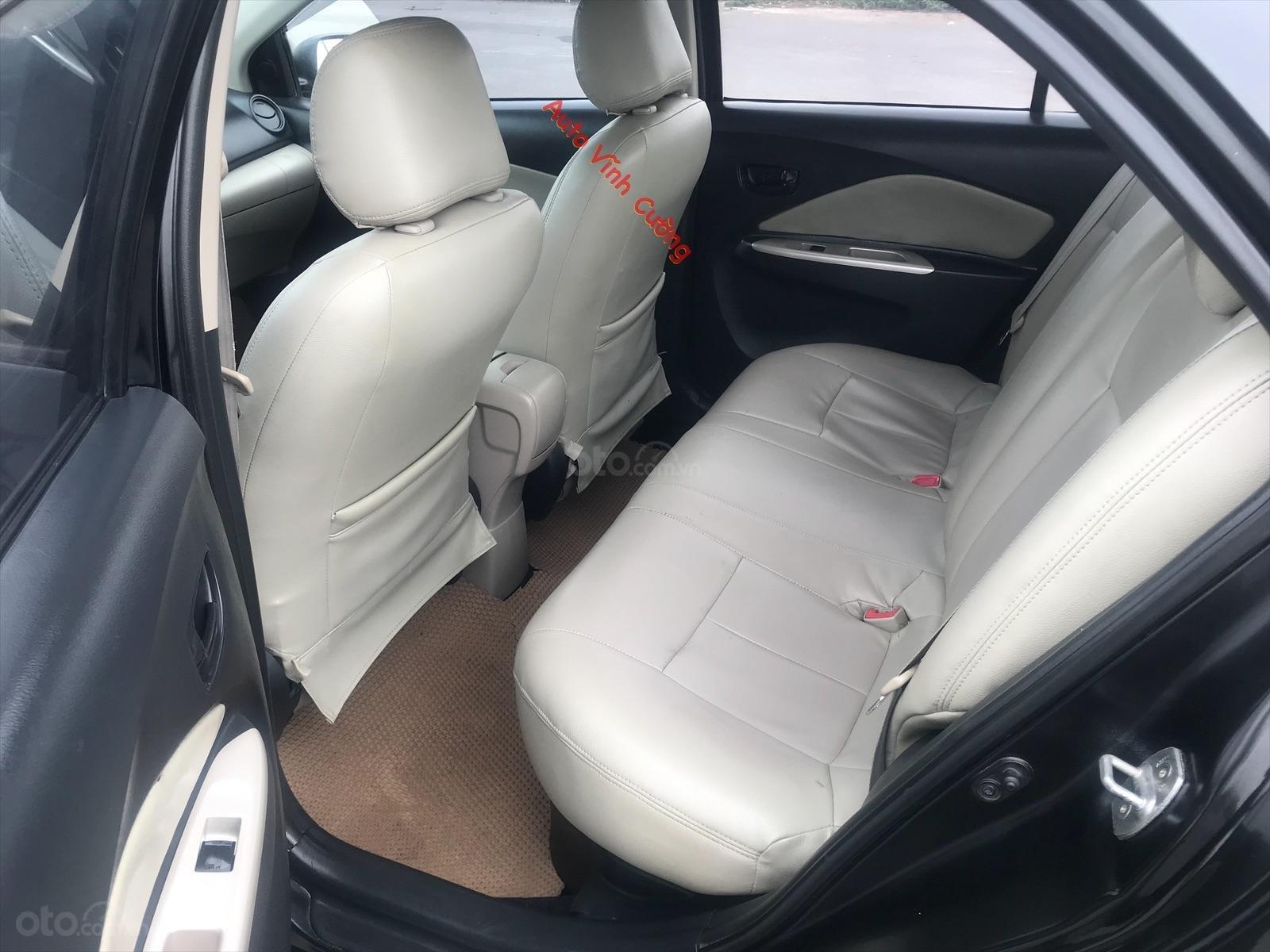 Bán xe Toyota Vios 1.5E MT đời 2009, màu đen-15
