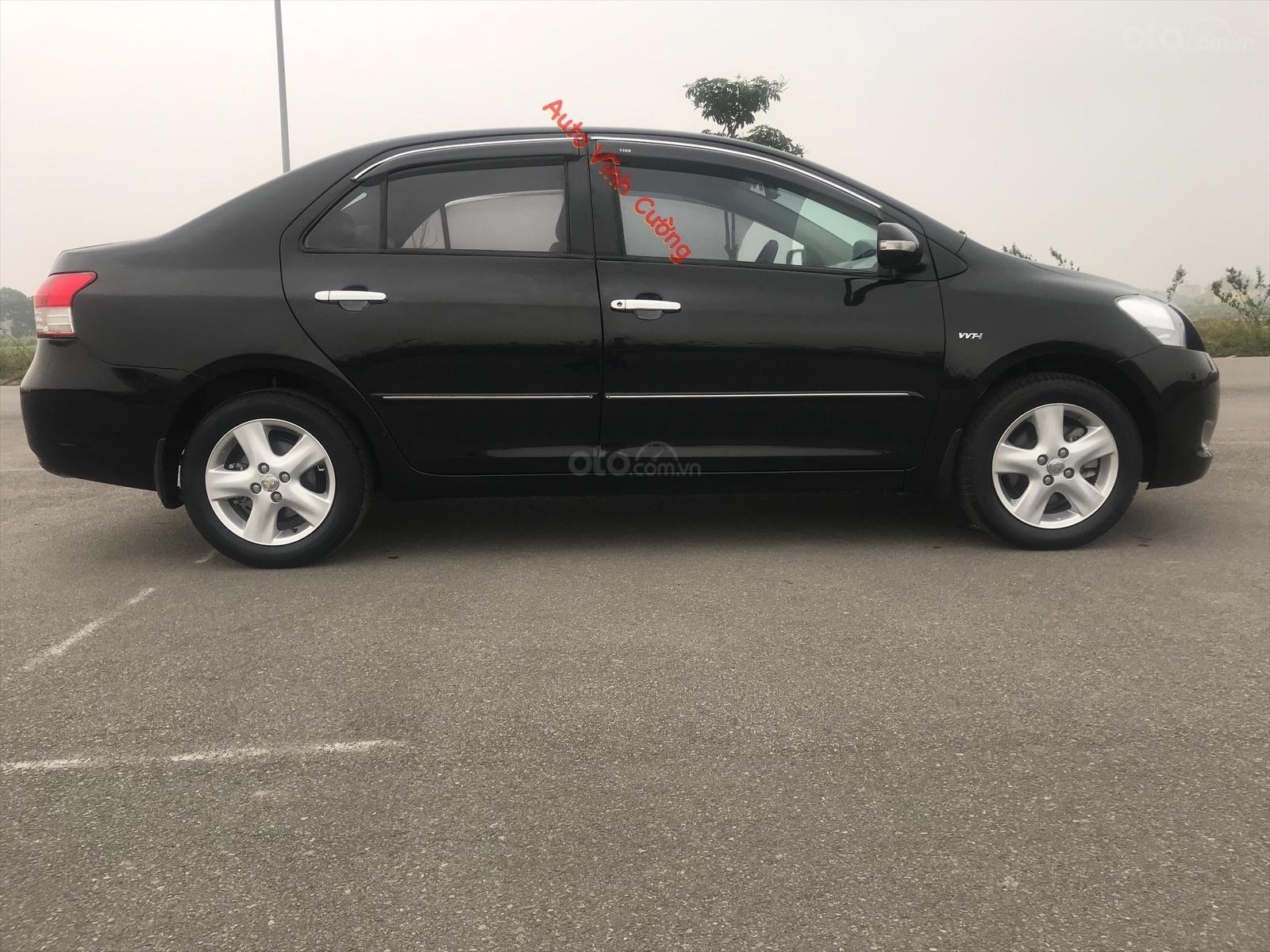 Bán xe Toyota Vios 1.5E MT đời 2009, màu đen-17