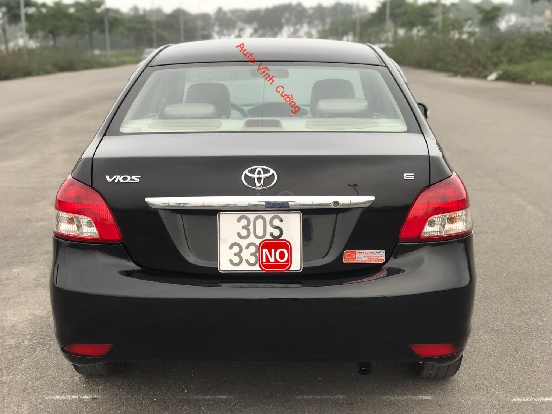 Bán xe Toyota Vios 1.5E MT đời 2009, màu đen-22