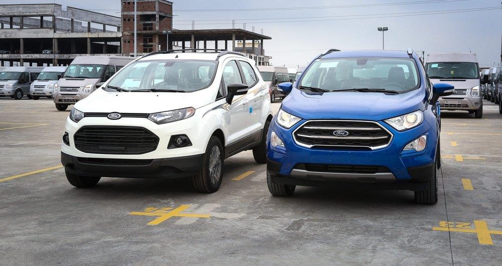 """Giá gói phụ kiện """"full option"""" của Ford Ecosport."""