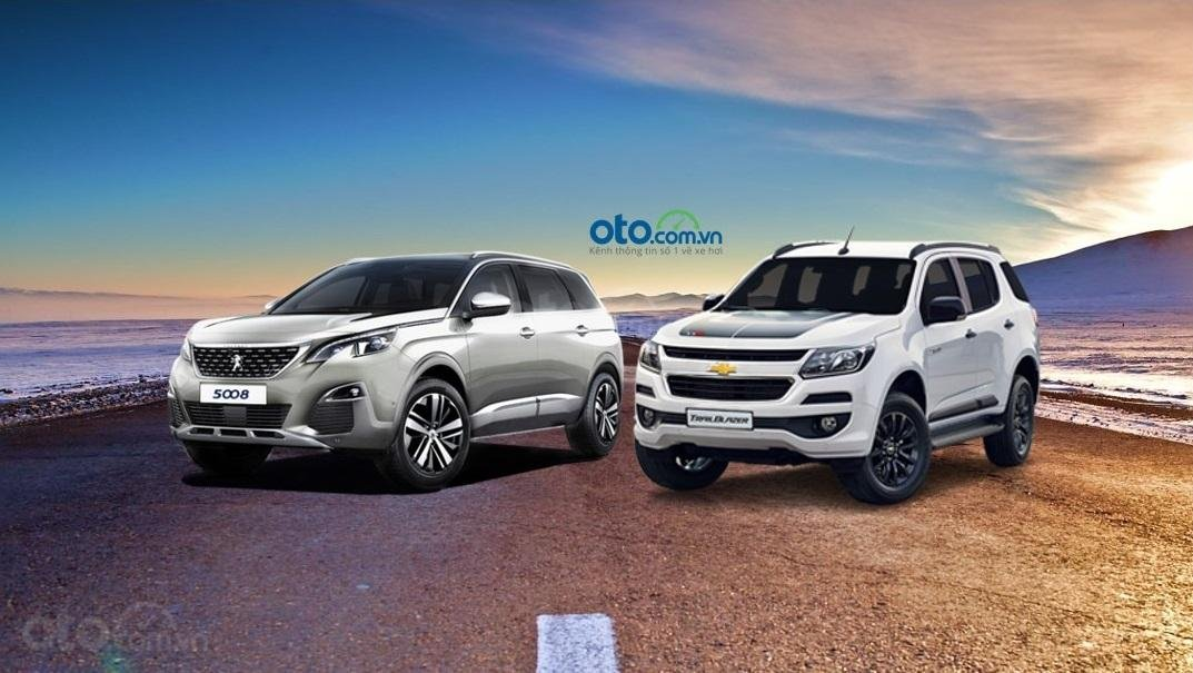 So sánh Peugeot 5008 2019 và Chevrolet Trailblazer 2019...