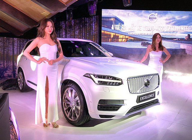 Các mẫu xe của Volvo luôn được đánh giá rât cao về độ an toàn
