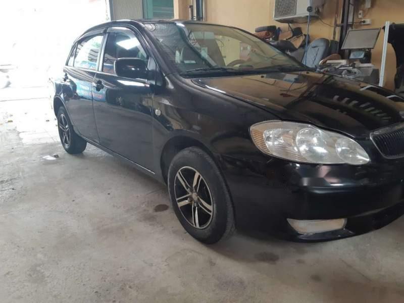 Bán ô tô Toyota Corolla Altis 1.8 MT đời 2002, màu đen xe gia đình (1)