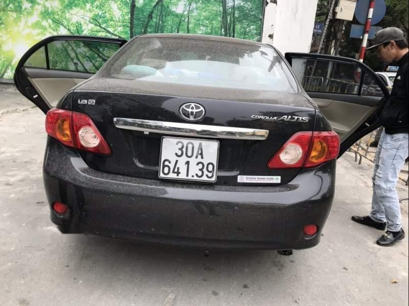 Bán Toyota Corolla Altis G đời 2009, màu đen chính chủ-0