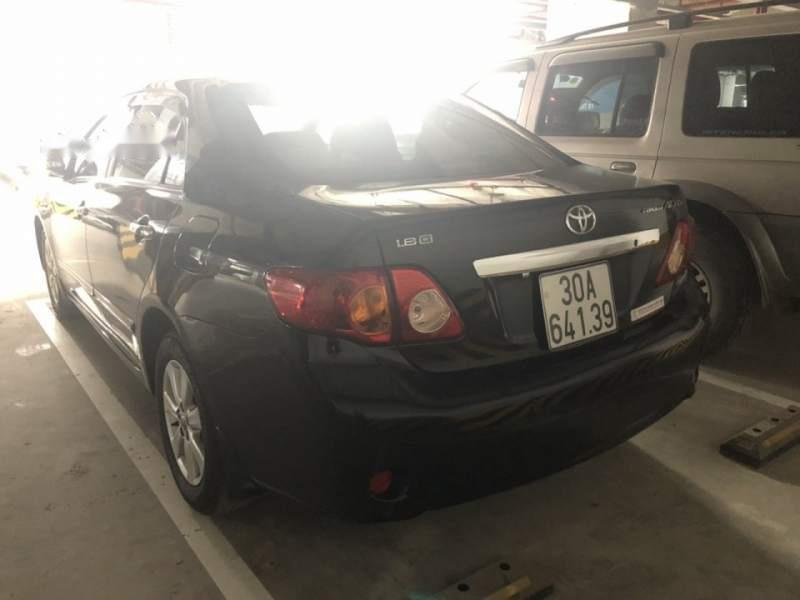 Bán Toyota Corolla Altis G đời 2009, màu đen chính chủ-1