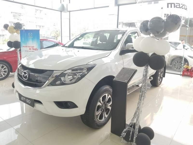 Cần bán Mazda BT 50 sản xuất năm 2019, màu trắng, nhập khẩu nguyên chiếc giá cạnh tranh-1