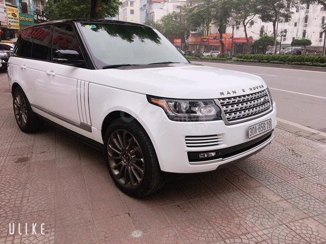 Cần bán xe LandRover Range Rover HSE đời 2014, màu trắng, nhập khẩu nguyên chiếc-0