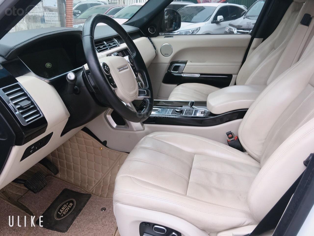 Cần bán xe LandRover Range Rover HSE đời 2014, màu trắng, nhập khẩu nguyên chiếc-2