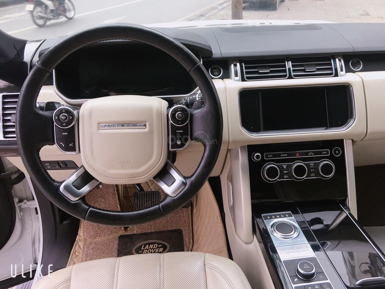 Cần bán xe LandRover Range Rover HSE đời 2014, màu trắng, nhập khẩu nguyên chiếc-6